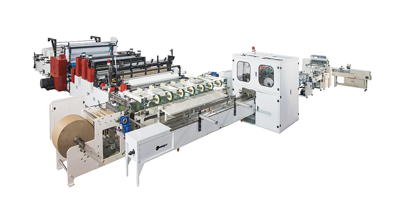Full Servo High-speed Toilet Paper _ Kitchen Towel Automatic Packaging Production Line